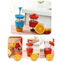 Fruits Smoothie Maker Cup Juicer Gelas Jus Manual