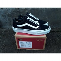 vans oldschool black white wafle dt