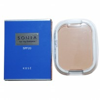 Kose New Sonia Two Way Foundation Reffil No. 410