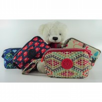 Motif K) Pouch Multifungsi 3 Layer / Gadget pouch 3 layer / Dompet 3