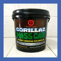 Gorillabz Gorillaz Mass Gain 5 Lbs Chocolate / 5lb gainer godzila gorila gorilabs gorilla lab labs
