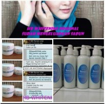 HB Lotion (hand body lotion whitening) + soap 250ml