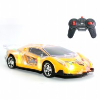 Mainan Remote Control RC Yellow Roadster Car