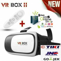 VR BOX 2 + vr gear Bluetooth GamePad ( Virtual Reality Glasses ) android & ios