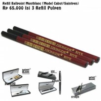 Refill Pulpen Isi Ulang Tinta Pen Saintpen - Model Cabut - Isi 3pc