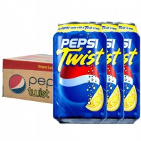 Pepsi Cola Twist 330ml x 24 Cans