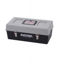 SHUTER TB-102 PROFESSIONAL TOOL BOX 2 LAYERS 25KG BLACK