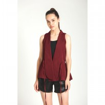 Wulf.i Limin Top/Outer- Maroon