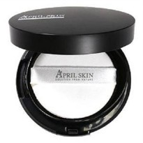 April Skin Magic Cushion Black (untuk kulit berminyak,kombinasi,normal)
