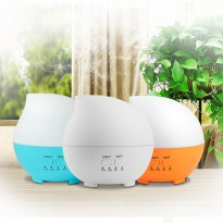 Waterdrop Air Humidifier Aroma Oil Diffuser Light 7 Colours - 300ml