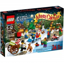 Lego 60063 City Advent Calendar