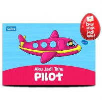 [HelloPanda] Aku Jadi Tahu PILOT Boardbook + Playmap + Picture Pieces (Bilingual)