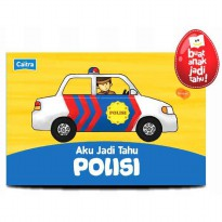 [HelloPanda] Aku Jadi Tahu POLISI Boardbook + Playmap + Picture Pieces (Bilingual)