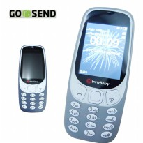 Strawberry MAROKO 3310 Clasic Phone Mirip Nokia 3310 2017