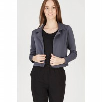 Ema Gray Lapel Outer