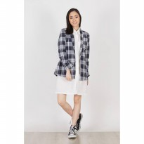 Fynley Blazer Black Plaid
