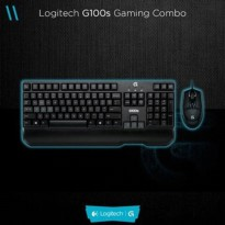 Logitech Keyboard Mouse G100s Gaming Combo
