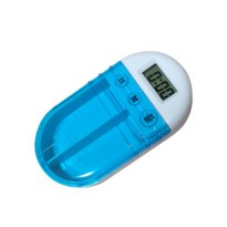 Alarm Kotak Obat Timer - Medicine Box With Electric Alarm