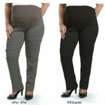 Cj collection Celana hamil panjang wanita jumbo long pant Duobig
