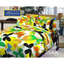 New Sprei Belladona Butterfly 180X200 / Spf 992