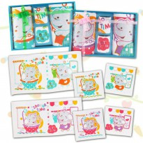 KIDDY HANDUK SET 4 PCS - TERMURAH