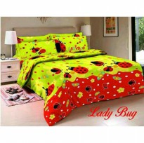 New Sprei Belladona Lady Bug 180X200 / Spf 1009