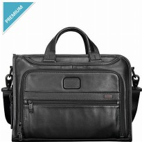 Tumi Alpha2 Slim Deluxe Brief Leather
