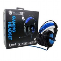 Sades 704 LOCUST - BLACK Gaming Headset