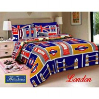 New Sprei Belladona London 180X200 / Spf 1014