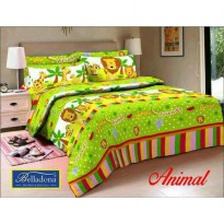 New Sprei Belladona Animal 180X200 / Spf 1015