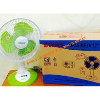 KIPAS ANGIN MEJA / DESKFAN / DESK FAN SANEX 12' FD 1288