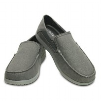 Crocs Men's Santa Cruz 2 Luxe Loafer - Abu