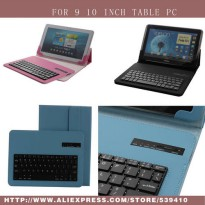 [globalbuy] Universal Bluetooth Keyboard PU Case Cover For Samsung Galaxy Tab 3 P5200 P521/3455331
