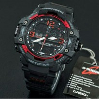 Jam Tangan Pria Sport Casio G-Shock New Protrek Black List Red