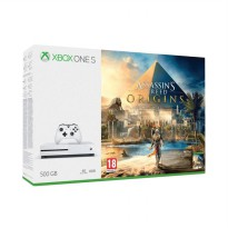 Microsoft Xbox One S Slim Assasins Creed Origins Bundle Game Console [500 GB]