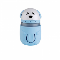 USB Cute Mini Cartoon Pet Dog Ultrasonic Humidifier Colorful Night Light LED Lamp - 165ml