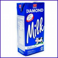 SUSU UHT PLAIN DIAMOND 1LTR