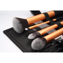 REAL TECHNIQUES CORE COLLECTION ( GOLD ) - Kuas Make Up Brush Kit 4 in
