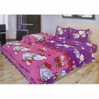 Illusion Kitty Miss hug Sprei Sprei 180x200x20