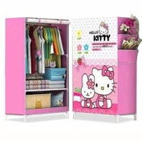 HK MELODY Lemari pakaian Multifunction Wardrobe Single rak