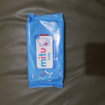 Mitu Baby Soft Care Wipes 50'S Blue Regular