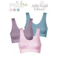 [PASTEL] GENIE BRA PASTEL / MADE IN JAPAN / ( 1BOX ISI 3SET/PCS )