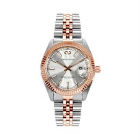 Christ Verra CV 72025G-14 SLV Stainless Steel Automatic Men???s Watch - Silver Rose Gold