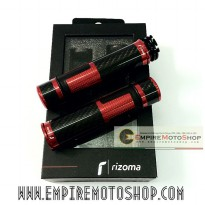 Handgrip Model Rizoma LUX Red + Jalu Carbon Universal