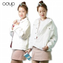 [NEW ARRIVAL] Coup S4 Woman Shirts Jacket White [Limited Edition]