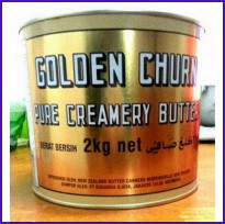 Butter Golden Churn