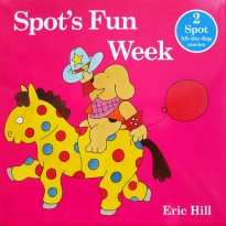 [HelloPanda] Spot's Fun Week! includes 2 lift-the-flap stories