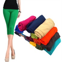 Celana Legging Wanita 7/8 All Size FIt To L - Spandek Balon Good Quality