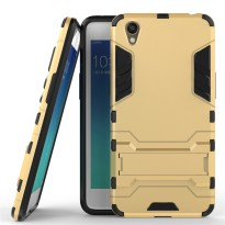 Oppo Neo 9 A37 - Hard Case Rugged Kickstand Armor Ironman Back Cover For Oppo A37
