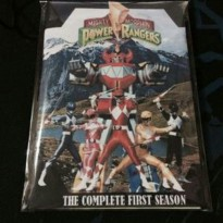 DVD FILM Mighty Morphin Power Rangers Season 1,2,3 completed
